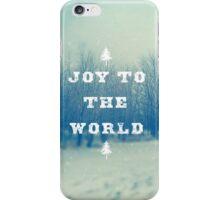 Joy To The World iPhone Case/Skin