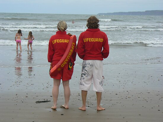 Baywatch, Scarborough by fenster