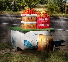 Fruit Stand by Mike  Savad