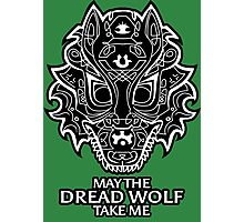 Dread Wolf Take Me Photographic Print