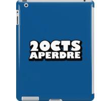 VincenTimes à perdre iPad Case/Skin