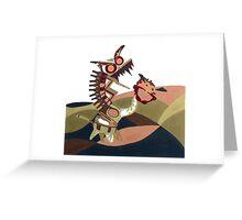 Fiery Ball of Joy Greeting Card