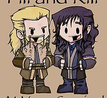 Little Fili and Kili by Jae Kitinoja