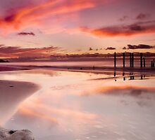 Willunga Sunset panorama by Paul Thompson