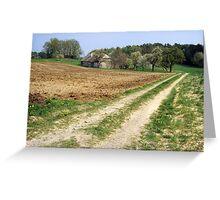 Ye Old Farm Greeting Card