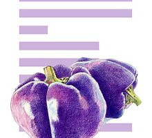 E is for Eggplant by mrana