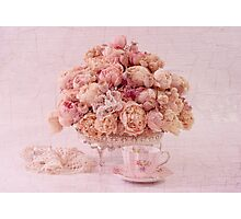 Dried Peony Still Life Photographic Print