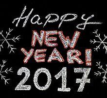 Happy new year 2017 by Stanciuc