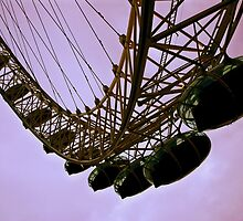London Eye by Kalena Chappell