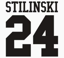 Stiles Stilinski Jersey #24 - Black Text by EIDO