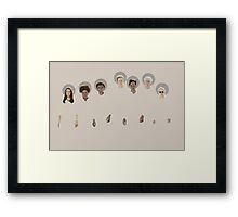 When the Greendale Saints go marching in Framed Print