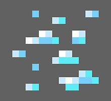 Diamond Block - Minecraft by janeemanoo