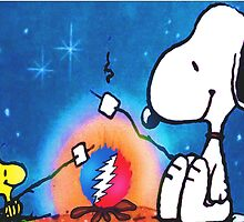 snoopy and woodstock by chinacat65