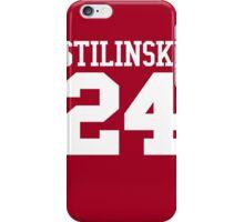 Stiles Stilinski Jersey #24 - White Text iPhone Case/Skin