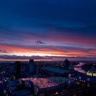 Melbourne Sunset 2 by Kingston  Liu