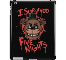 I Survived Five Nights At Freddy's Pizzeria iPad Case/Skin