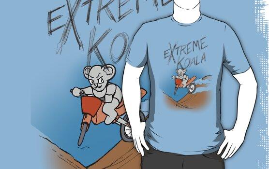 Extreme Koala Motorcross by Colin Wells