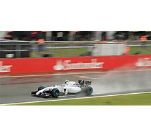 Valtteri Bottas - Williams Martini Racing  Photographic Print