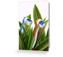Natural care Greeting Card