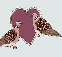 Two Turtle Doves by SVaeth