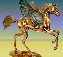 Paras' Pegasus  by Woodie