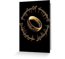 Lord of the Rings Marathon Design Greeting Card