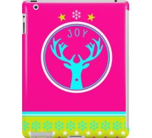 Oh Deer - it's merry and bright iPad Case/Skin