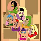 7 Deadly Sins (poster) by elaine price (monaghan)