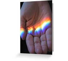 Catching Rainbows Greeting Card