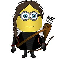 Katniss Hunger Games Minion Photographic Print