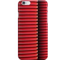 3 Red Pipes iPhone Case/Skin