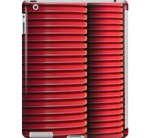 3 Red Pipes iPad Case/Skin