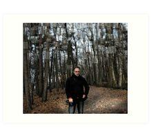 Belgium Forest Art Print