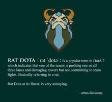 rat dota  by designjob
