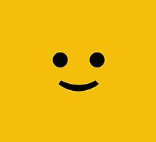LEGO Face by janeemanoo