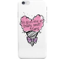 COtton CAndy Heart iPhone Case/Skin