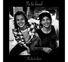One Direction Larry Stylinson 18 Photographic Print