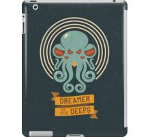 Cthulhu, Dreamer in the Deeps iPad Case/Skin