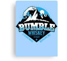 S. Claus Distillery - Bumble Whiskey Canvas Print