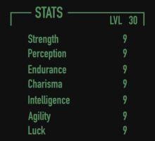 Fallout Stats by SantanaArt