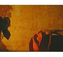 The Decision. Or...Meanwhile in a corner cafe in Mexico... Photographic Print