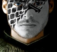 Robb Stark House War Paint Sticker
