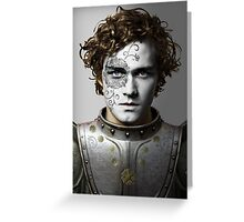 Loras Tyrell House War Paint Greeting Card