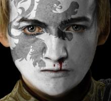 Joffrey Baratheon House Lannister War Paint Sticker