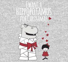 I Want a Hippopotamus for Christmas Kids Clothes
