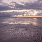 Ripples at Low Tide - Red Beach by Barbara Burkhardt
