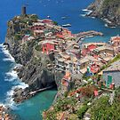 Vernazza from Above - Widescreen by Scott Ingram