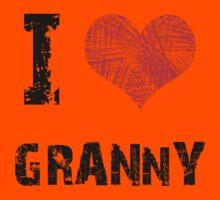 I Love My Granny Kids Clothes