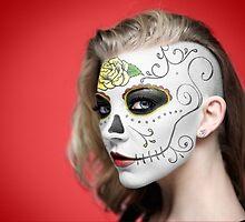 Natalie Dormer Dia de Los Muertos Day of the Dead MakeUp by HilaryHeffron