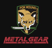 metal gear solid fox hound by Thenobel